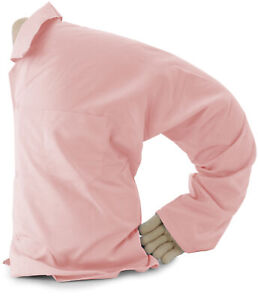 Boyfriend Pillow - Cuddly Form Body Pillow with Benefits, Light Pink