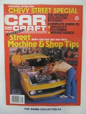 Car Craft Magazine   January 1983   The Ultimate 50 Collector Cars