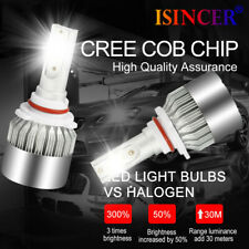 2019 Hot CREE LED Headlight 9006 HB4 9012 6000K 1855W 278250LM Bulbs 1 Pair