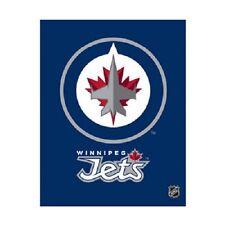 Artissimo Designs WINNIPEG JETS NHL 18 X 24 In. Glory Team Logo Canvas Art