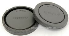 SONY E Mount Body Cap + Rear Lens Cap for Sony Alpha SLT-A58 Sony Alpha NEX-7