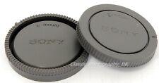 SONY E-Mount Body Cap + Rear Lens Cap for Sony Alpha SLT-A58 Sony Alpha NEX-5