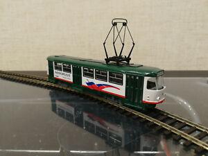 tram, tatra, tatra t3, ho, 1/87, Straßenbahn, H0, train