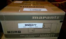 Marantz MM8077 7 Channel Powered Home Theater Amplifier, Brand New