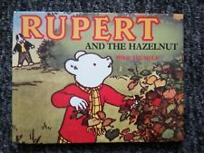 RUPERT AND THE HAZELNUT BY MIKE TRUMBLE, HARDBACK 1989