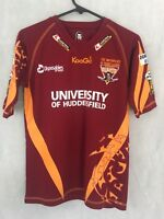 University of Huddersfield Rugby League Jersey Size LG Boys