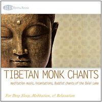 Gregorian Chants: Chants for Meditation Quiet & Prayer  TIBETAN CHANTS CD - NEW!