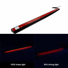"36"" Car LED Rear Windshield Roofline 3rd High Brake Tail Light Strip Waterproof"