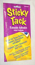 Sticky Tack Reusable Adhesive Replaces Tape Removable Non-Toxic 5.3 oz NEW