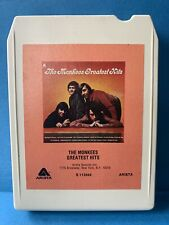 8 track - The Monkees - Greatest Hits (serviced and playtested) Very Clean!