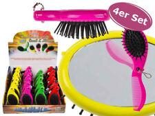 Haarbürste 3in1 In PINK mit Kamm und Spiegel Bürste Universal praktisch