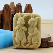 Rabbit Craft Soap Molds Silicone Candle Molds Soap Making Molds Resin Wax Mould