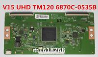 Original T-CON board LG Display V15 UHD TM120 Ver0.9 6870C-0535B LG