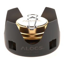 N1 ALOCS Portable Mini Ultra-light Spirit Burner Alcohol Stove Outdoor Back Q5y8