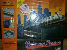 O MTH RAIL KING NY YANKEE SUBWAY SERIES SET MTA READY TO RUN W/Sound NISB