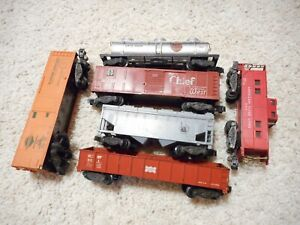 S SCALE AMERICAN FLYER 802, 904, 924, 926 & 941 KNUCKLE COUPLER CAR GROUP