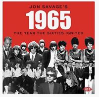 JON SAVAGE'S 1965-THE YEAR THE SIXTIES IGNITED  2 CD NEU
