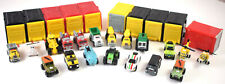 Lot of 19 Tonka Tinys Mini Vehicles Firetruck Airplane Helicopter Truck Car More