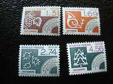 FRANCE - timbre yt preoblitere n° 194 a 197 n** (A2) stamp french (A)