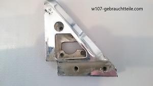 MERCEDES W107 CHROM Außenspiegelhalter Fensterführung RECHTS R107 SL SLC