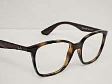 Authentic Ray-Ban RB 7066 5577 Tortoise Brown Eyeglasses Frame $183