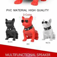 Portable Bulldog Wireless Bluetooth Speaker Music Stereo Speaker Sound System