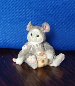 """1994 Enesco Calico Kitten """"Can't Disguise Our Friendship"""" New"""