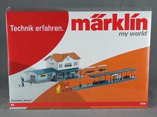 "MÄRKLIN 72780 [Spur H0, Bausatz] Paket ""Bahnhof"": Gebäude, Bahnsteig, Zubehör"
