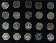 DDR 20 x 5 Mark Gedenkmünzen 1972-1990 Meißen - Zeughaus - Stgl