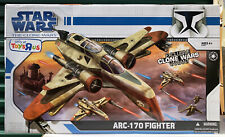 Star Wars Clone Wars Variant Arc-170 Fighter Toys R Us Exclusive