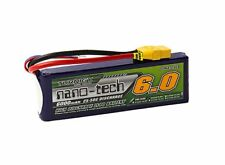 RC Turnigy nano-tech 6000mah 2S 25~50C Lipo Pack w/XT-90