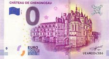 37 CHENONCEAUX Château de Chenonceau 2, 2019, Billet 0 € Souvenir