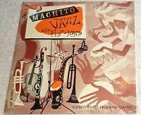 "10"" VINYL (JAZZ) LP by MACHITO - JAZZ WITH FLIP + BIRD / CLEF RECORDS - MGC-511"