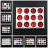12Boxes Nail Art Glitter Powder 3D Holographic Chameleon Sequin Flakes Manicure
