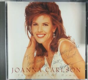 Autographed Signed Light of Home - Audio CD By Joanna Carlson