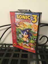 Sonic the Hedgehog 3 (Sega Genesis) BRAND NEW FACTORY SEALED HARDCASE RARE Uncut