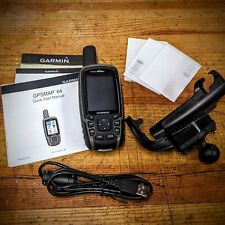 "Garmin Bundle - GPSMAP 64 * 2.6"" Handheld GPS, Mount, Protection Glass,"