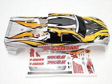 NEW TRAXXAS T-MAXX 2.5 Body ProGrapix White RW5W
