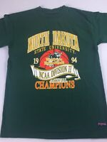 North Dakota State T-Shirt VTG 1994 Womens Basketball Champions Bison Medium 90s