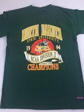 North Dakota State T-Shirt VTG 1994 Womens Basketball Champions Bison Medium 90s