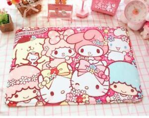 "Cute Hello Kitty Friends Doormat Bath Mat Rug Pad Carpet Floor Mat 18.5"" x 26"""
