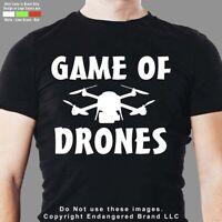 Drone Game of Drones DJI Yuneec Syma Mavic men's short sleeve T shirt