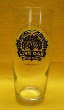 Live Oak Brewing Willybecher Beer Glass Austin Texas