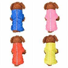Pet Dog Raincoat Small Large Four Legged Waterproof Poncho Rainproof Jumpsuit