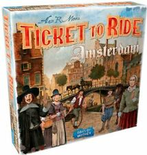 Ticket To Ride - Amsterdam - Strategy Board Game