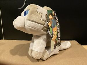 """Minecraft Happy Explorers Ragdoll Gray Cat Plush 8"""" Jinx New with Tags in USA"""