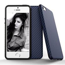 Shockproof Slim Soft TPU Carbon fiber Back Case Cover for Apple iPhone 6S 7 Plus