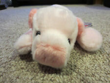"""Ty Pig Squealer Large Beanie Buddies Plush Stuffed Toy New 14"""" 1998 Baby"""