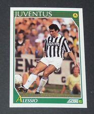 150 ALESSIO JUVENTUS TURIN FOOTBALL CARD 92 1991-1992 CALCIO ITALIA SERIE A