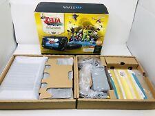 Nintendo Wii U 32GB Console Legend of Zelda Wind Waker Edition CIB Very Nice